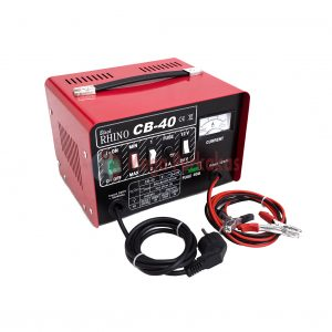 BATTERY CHARGER RHINO CB 40 RED