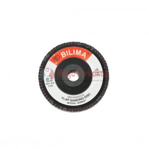 "BILIMA FLAP SANDING DISC (RADIAL WHEEL) AA 80 - 4"" GERMANY"