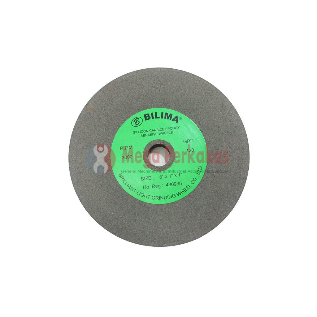 "BILIMA SPONGE GRINDING WHEEL C120 8"" (200X1""X1"") MAX RPM 3000"